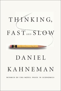 Thinking, Fast and Slow - Kahneman book cover