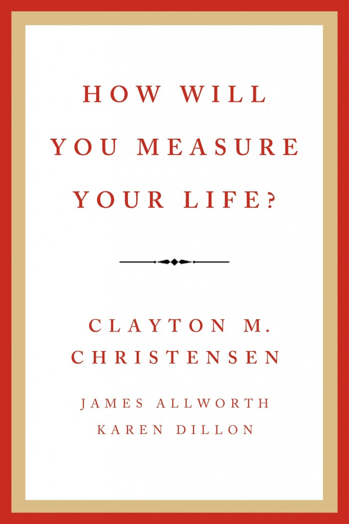 Cover How Will You Measure - Clayton Christensesn