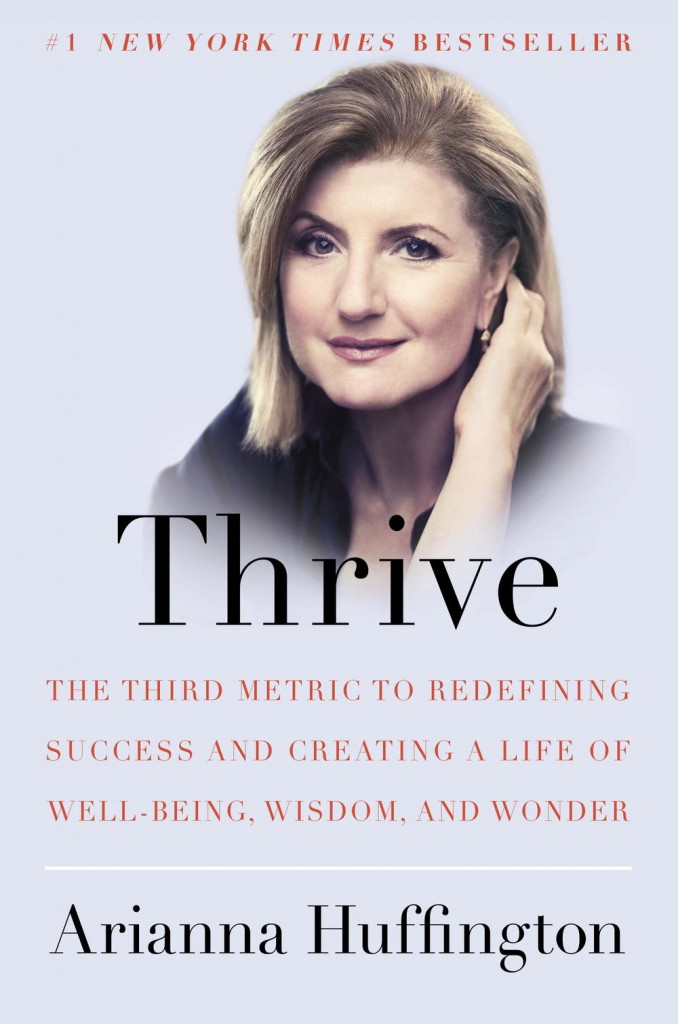 Cover Thrive, Arianna Huffington
