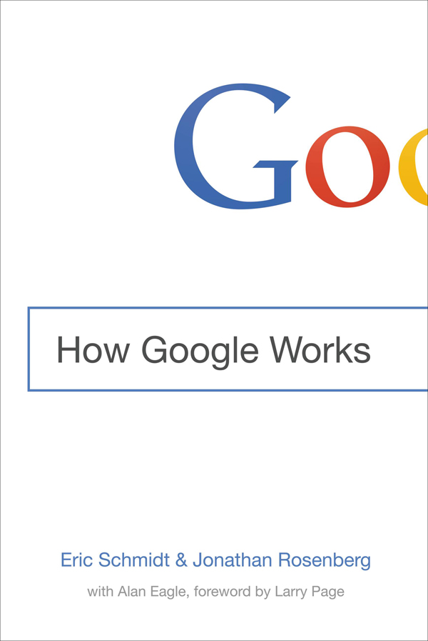 How Google Works - Cover