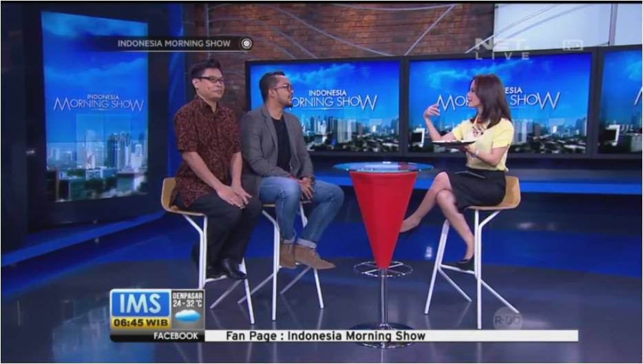 Indonesia Morning Show - Warteg Gourmet
