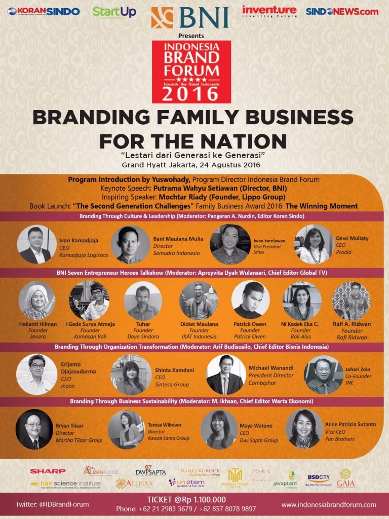IBF 2016 - Speaker Line up
