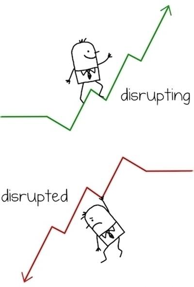 Disrupting vs Disrupted 2