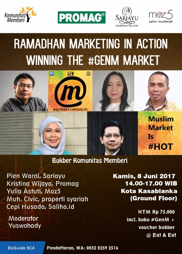Ramadhan Marketing in Action, Juni 2017