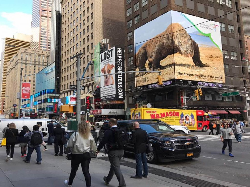Wonderful Indonesia Time Square NY