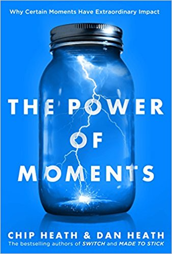 The Power of Moment - Book Cover