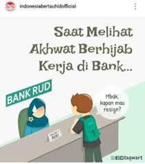 Hijarah - Tidak Bekerja di Bank Konvensional