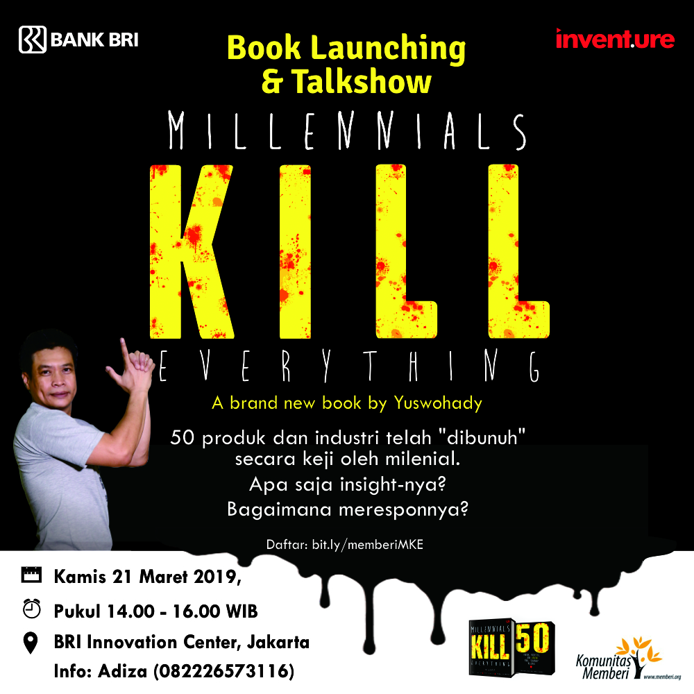 Millennials Kill Everything - Flyer - Launch