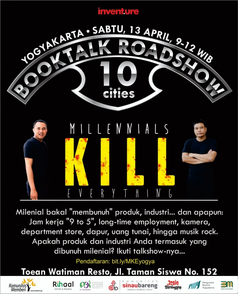 BookTalk Roadshow 10 Cities - Yogya